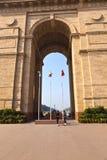 Puerta de la India en Delhi Foto de archivo libre de regalías