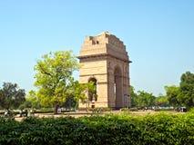 Puerta de la India en Nueva Deli fotografía de archivo libre de regalías
