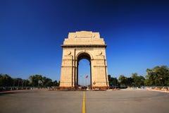 Puerta de la India en Nueva Deli, la India imagen de archivo libre de regalías