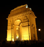Puerta de la India, Nueva Deli Fotografía de archivo libre de regalías