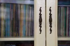 Puerta de la manija, concepto del conocimiento Fotografía de archivo libre de regalías