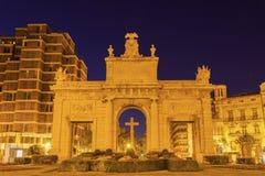 Puerta de la Mar in Valencia Stock Photography