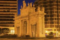 Puerta de la Mar in Valencia Royalty Free Stock Photos