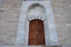 Puerta de la mezquita Fotografía de archivo libre de regalías
