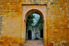 Puerta de la muralla Stock Images
