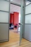 Puerta de la oficina Imagen de archivo libre de regalías
