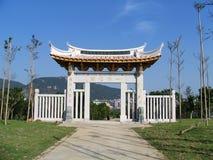 Puerta de la pagoda Foto de archivo libre de regalías