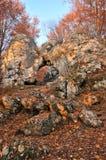 Puerta de la piedra caliza fotografía de archivo libre de regalías