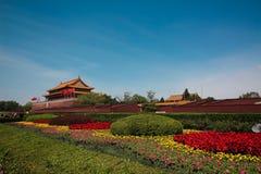 Puerta de la Plaza de Tiananmen fotografía de archivo libre de regalías