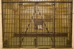 Puerta de la prisión Fotografía de archivo