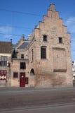 Puerta de la prisión en La Haya Fotos de archivo