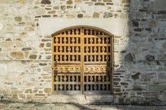 Puerta de la privacidad Imagen de archivo libre de regalías