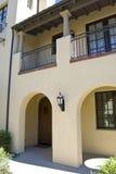 Puerta de la residencia de California Fotografía de archivo libre de regalías