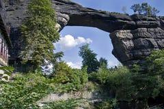 Puerta de la roca Fotos de archivo libres de regalías