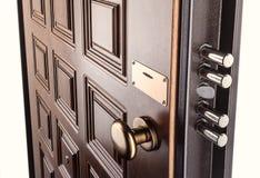 Puerta de la seguridad fotografía de archivo
