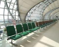 Puerta de la terminal de aeropuerto. Aeropuerto de Bangkok Imágenes de archivo libres de regalías