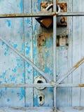 Puerta de la textura Fotos de archivo libres de regalías