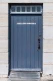 Puerta de la tienda de la artillería Imagen de archivo libre de regalías