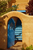 Puerta de la turquesa Imágenes de archivo libres de regalías