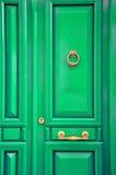 Puerta de la turquesa Imagen de archivo libre de regalías