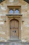 Puerta de la universidad de la iglesia de Cristo Imagen de archivo libre de regalías
