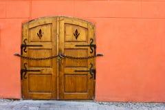 Puerta de la vendimia foto de archivo libre de regalías