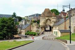 Puerta de Laon Ardon imagenes de archivo