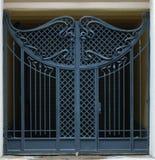 Puerta de las barras de hierro Imagen de archivo