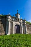 Puerta de Leopold de la nueva fortaleza foto de archivo libre de regalías
