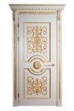 Puerta de lujo hecha a mano. Fotografía de archivo libre de regalías