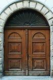 Puerta de madera Imagen de archivo
