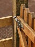 Puerta de madera Fotos de archivo libres de regalías