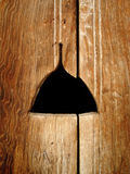 Puerta de madera Foto de archivo