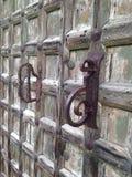 Puerta de madera Imagenes de archivo