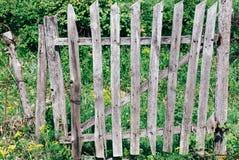 Puerta de madera Fotos de archivo