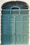 Puerta de madera antigua Fotos de archivo libres de regalías