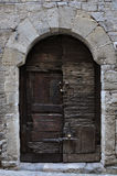Puerta de madera Royalty Free Stock Images