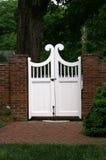Puerta de madera atractiva Imagenes de archivo