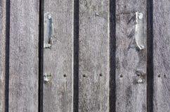 puerta de madera, detalle Foto de archivo libre de regalías