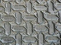 Puerta de madera en España Imagenes de archivo