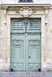Puerta de madera histórica fotos de archivo libres de regalías