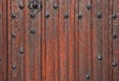 Puerta de madera tradicional Imagenes de archivo
