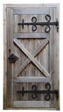 Puerta de madera vieja Fotos de archivo libres de regalías