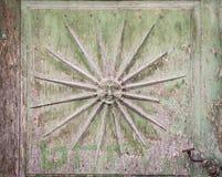Puerta de madera vieja Fotos de archivo