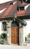 Puerta de madera vieja Imagen de archivo libre de regalías