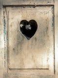 Puerta de madera vieja en Meran, el Tirol, Fotos de archivo libres de regalías