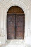 Puerta de madera vieja, primer Imagen de archivo libre de regalías