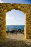 Puerta de mar imagen de archivo