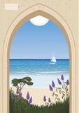 Puerta de mar Foto de archivo