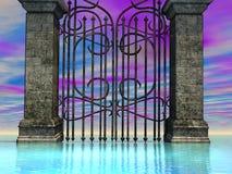 Puerta de mar 2 Fotografía de archivo libre de regalías